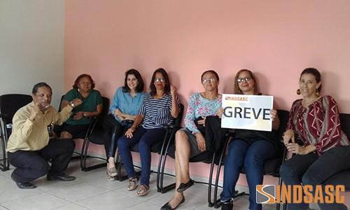 GREVE NO CRAS RIACHO FUNDO 1
