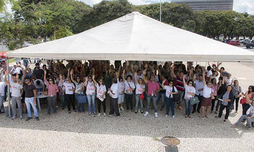 ASSEMBLEIA DECIDE PELA RETOMADA DA MOBILIZAÇÃO - Informes da Assembleia Geral do SINDSASC do dia 16 de março de 2016
