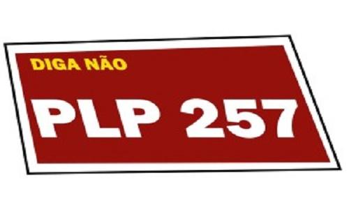 RETIRADA A URGÊNCIA DO PLP-257