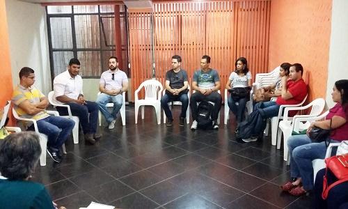 PRIMEIRA REUNIÃO COM TÉCNICOS ADMINISTRATIVOS