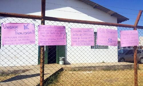 CRAS RECANTO DAS EMAS, CRAS SANTA MARIA E CRAS CEILÂNDIA NORTE, TIVERAM INCIDENTES NA MANHÃ DE HOJE
