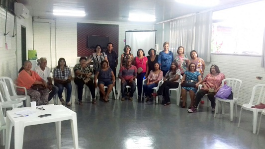 RELATO DA REUNIÃO COM APOSENTADOS(AS) MORADORES DE TAGUATINGA