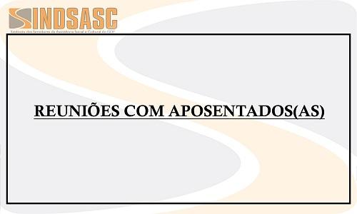 ENCONTROS COM OS(AS) APOSENTADOS(AS)