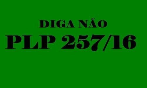 DIAP - MATÉRIA SOBRE O PLP 257/16